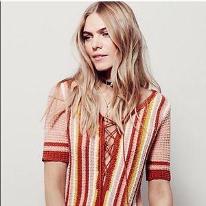 Free people lollipop sweater dress/tunic